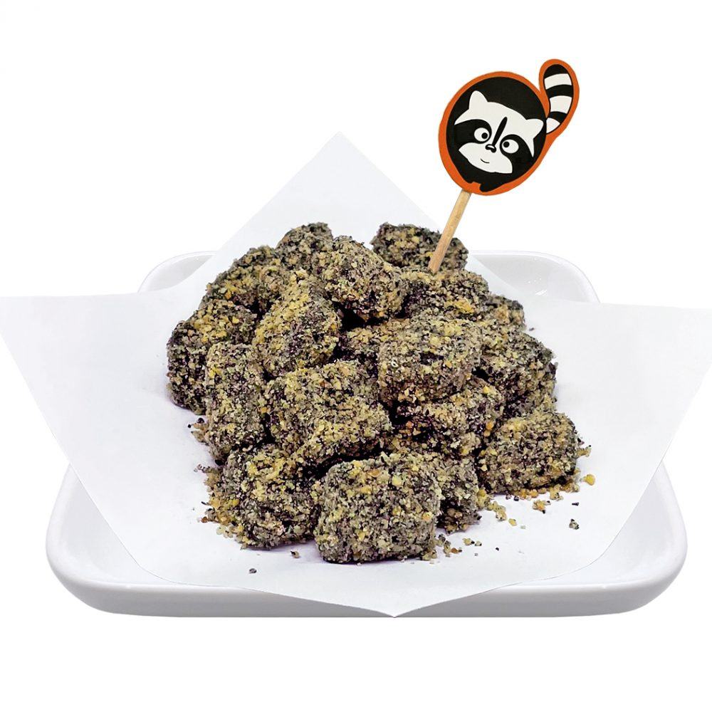 Nutty Black Sesame Muah Chee