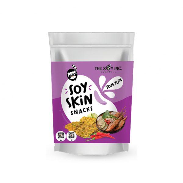 Soy Skin Snacks Tom Yum | Soy Chips Singapore
