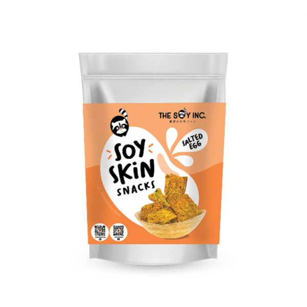 Soy Skin Snacks Salted Egg   Soy Chips Singapore