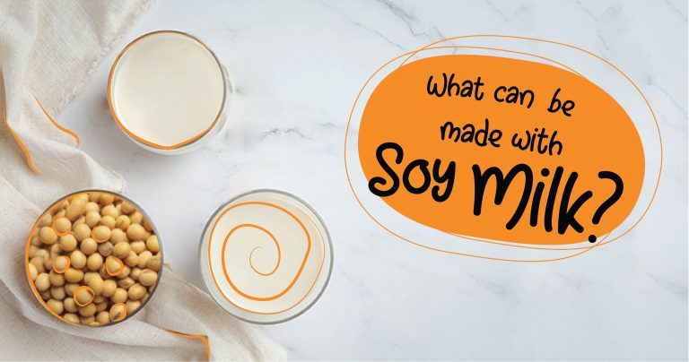 What Can Be Made With Soy Milk?